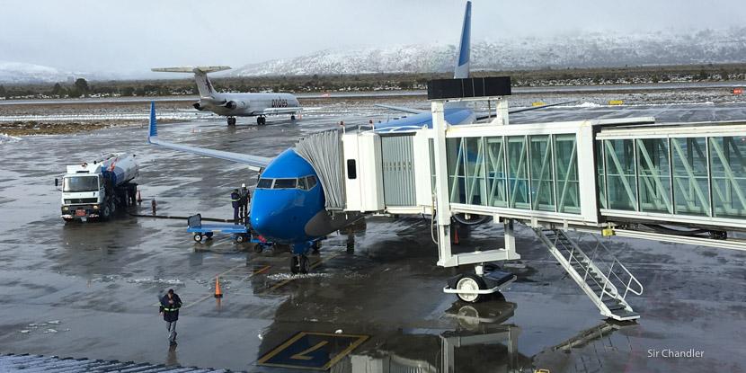 Volando a una Bariloche nevada con Aerolíneas Argentinas