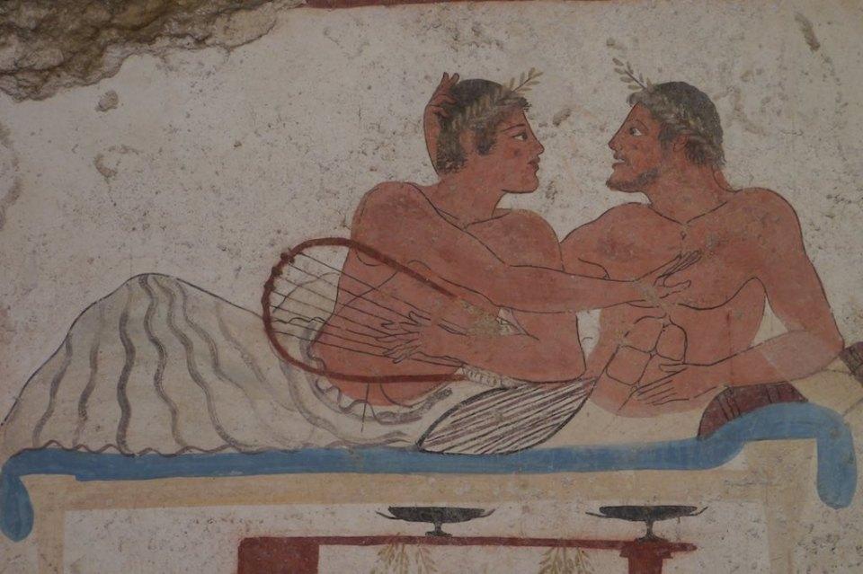 Das Grab des Tauchers. Männerliebe beim Totenfest