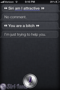 Siri, Am I Attractive?