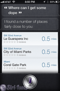 Where Can I Get Some Dope? - Funny Siri Sayings