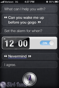 Wake Me Up Before You Go-Go - Siri Not So Funny