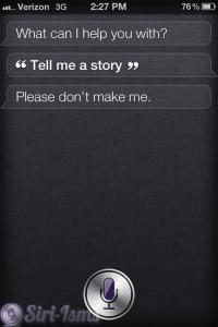 Tell Me A Story - Siri Tells Stories