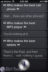 Who Makes The Best Cel Phone? ` Funny Siri Sayings