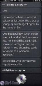 Tell Me A Story - Siri Funny Sayings