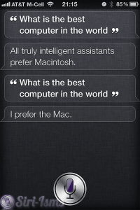 What Is The Best Computer In the World? Ask Siri A Question