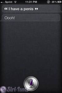 I Have A Penis (And Siri Doesn't)