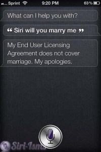 Siri Will You Marry Me? - Siri Says