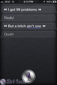 I Got 99 Problems ~ Funny Siri Sayings