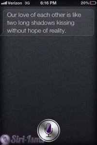 Siri Do You Love Me? - Siri Quotes