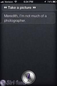 Siri Take A Picture ~ Funny Siri