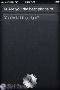Are You The Best Phone? Siri Laughs