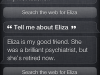Who Is Eliza?