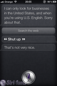 Shut Up - Mean To Siri
