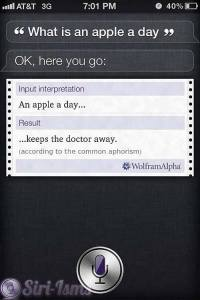 What Is An Apple A Day? - Siri Quotes