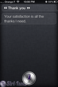 Thank You! - Siri Says