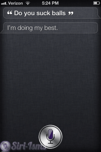 Do You Suck Balls? - Siri Sucks?