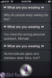 What Are You Wearing? - Siri Says Funny Things