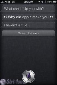 Why Did Apple Make You? - Siri Says
