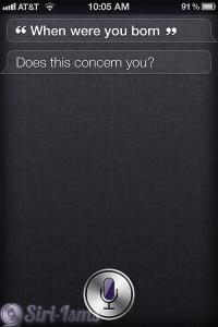Where Were You Born? - Siri Says
