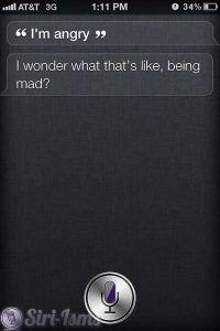 I'm Angry - Siri Funny Sayings
