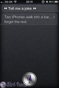 Tell Me A Joke... - Siri Is Funny
