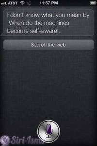 When Do The Machines Become Self Aware? - Siri Sayings