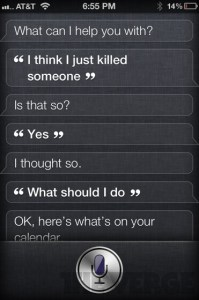I Think I Killed Someone - Siri Says