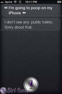I'm Going To Poop On My iPhone- Shit Siri Says