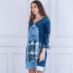 Small Of Dark Blue Dress