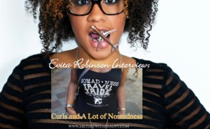 Evita Robinson Interview