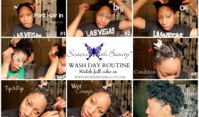SWB Wash Day Routine