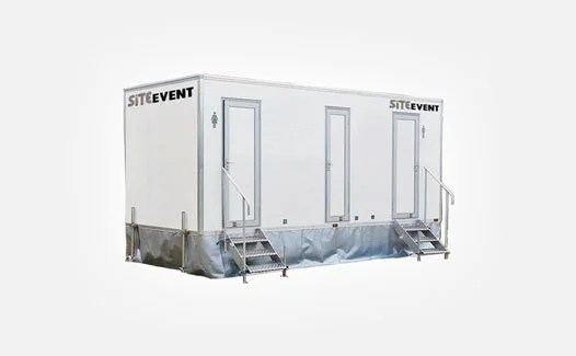luxury event toilet trailers for hire
