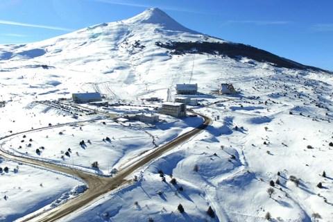 Yıldız Dağı Kış Sporları Turizm Merkezi açıldı!