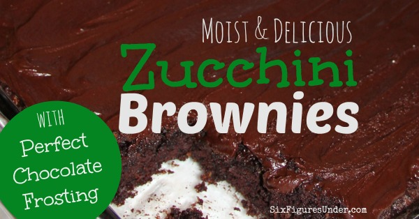 Moist and Delicious Zucchini Brownies with Perfect Chocolate Frosting- Recipe with pictures