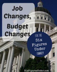 Job Changes, Budget Changes