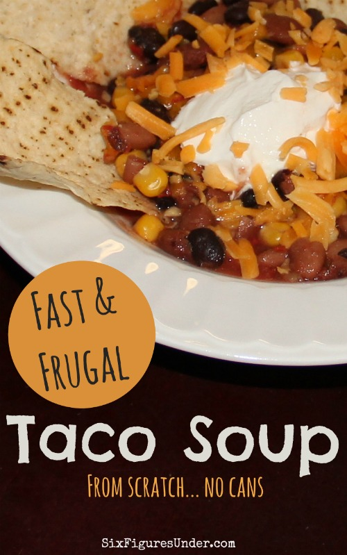Fast and Frugal Taco Soup