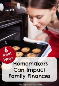 6 Ways Homemakers Can Impact Family Finances