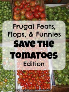 Frugal Feats, Flops, & Funnies