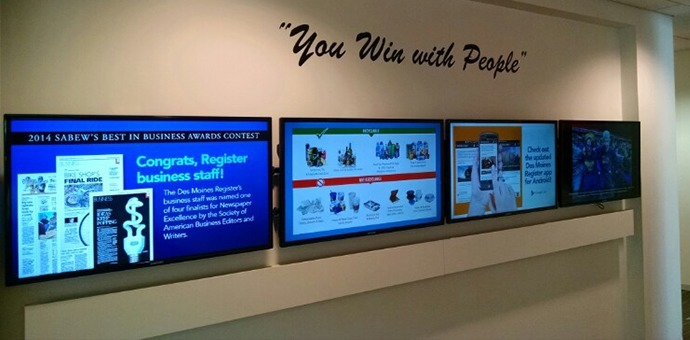 visix-engage-employees-with-digital-signs