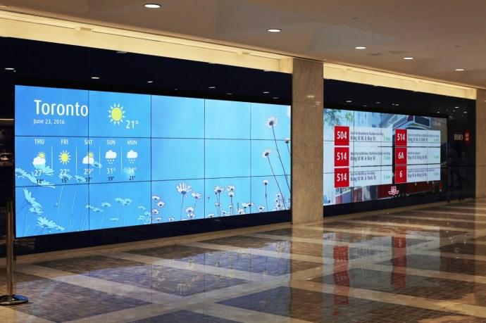 BMO CDM Video Wall