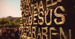 Jesus, on the doors of La Sagrada Familia
