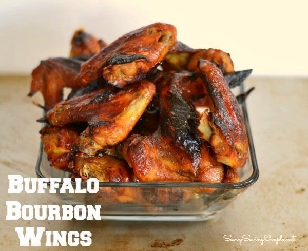 Easy Bourbon Buffalo Wings Recipe