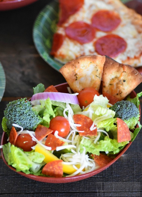 Pepperoni Pizza Salad & Game Day Favorites