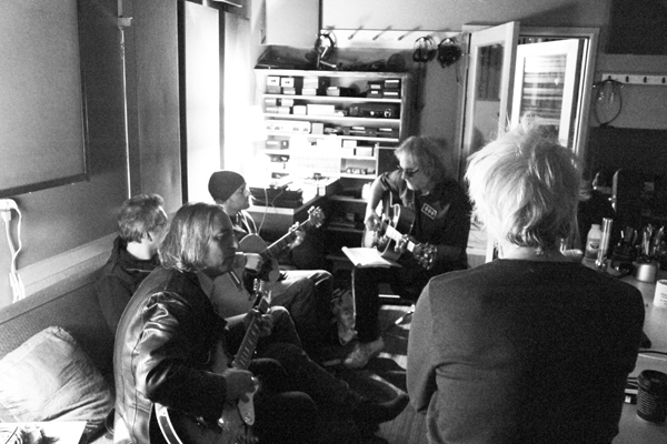 Peter Buck, Saint John, Paul Fox, Scott McCaughey, Bill Rieflin
