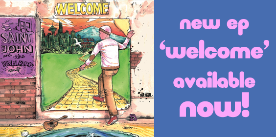 New EP 'Welcome'
