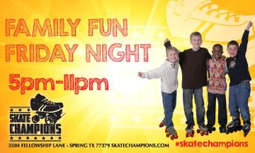Family Fun Friday Nights