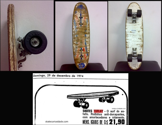 Skate tipo Export - Propaganda da Sears, do Jornal Folha de Sp 1974