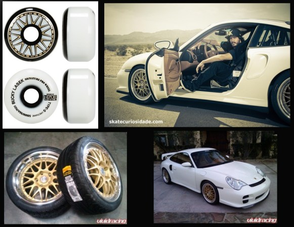 as lindas Type-s 58mm 96a igual aos aros da Porsche 996 turbo do Bucky