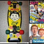 Skate com Deck Nash –  Mad Magazine – 1986