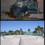 Crash Car  na  Robb Field Skate Park – 2013